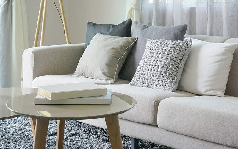 stock image of Living Room
